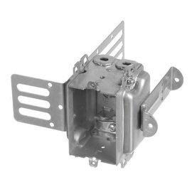 VISTA 3104-LSSA1X-1 - 2 1/2'' DEEP GANGABLE BOX W/ARMOURED CLAMPS FOR 1'' DRYWALL