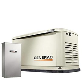 GENERAC 9/8 KW AIR COOLED STANDBY GENERATOR WITH WIFI, ALUM ENCLOSURE, 16 CIRCUIT LC NEMA3 – NO WHIP [1 2 WEEKS SHIPPING]