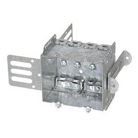 VISTA 2104-LSSA2X - 2 1/2'' DEEP - 2 GANG W/WARPAROUND BRACKET