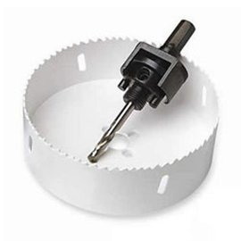 4.25'' BI METAL HSS HOLE SAW WITH LOCKING ARBOR