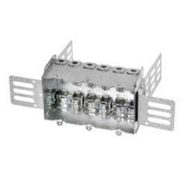 VISTA 2104-LSSA3X - 2 1/2'' DEEP - 3 GANG W/WARPAROUND BRACKET