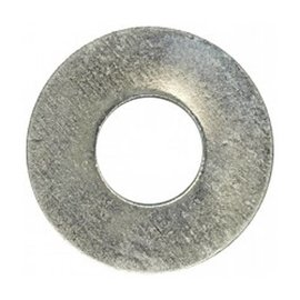 FASTENERS & FITTINGS INC. 1/4 B.S. S.A.E. STEEL WASHER ZINC PLTD - 100 PACK
