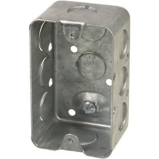 ORTECH 1110 - 1 7/8'' DEEP UTILITY BOX W/KNOCKOUTS