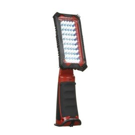 VISTA CORDLESS 45 LED SWIVEL LIGHT - RED & BLACK