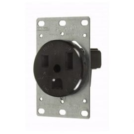VISTA 50A - 250V HEAVY DUTY FLUSH MOUNT OUTLET