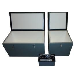 SOLAR INSULATED 4 BATTERY BOX 32 X 17.5 X 16'' NEMA 4