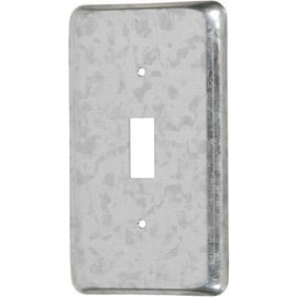 VISTA 11-C-5-HV - 347V 2 3/8'' WIDE UTILITY BOX COVER - TOGGLE SWITCH