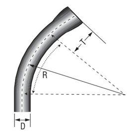 IPEX 1-1/2X45 PVC STD ELB SPXBE 40