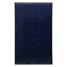 SOLAR HES 260W MODULE, 60 CELL, POLY -BLACK FRAME