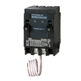 SIEMENS SIEMENS 15A 1 POLE SURGE PROTECTION PUSH-IN CIRCUIT BREAKER QSA1515SPD