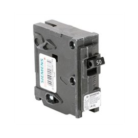 SIEMENS SIEMENS 1 POLE 50A PUSH-IN CIRCUIT BREAKER Q150