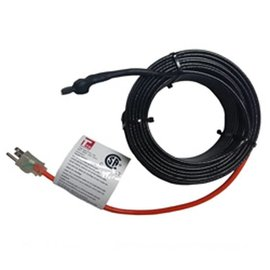 TRM HEAT PRETERMINATED PLUG IN SELF REGULATING HEATING CABLE 100 FEET 120V