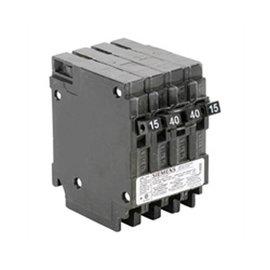 SIEMENS SIEMENS 15A/40A/15A QUAD PUSH-IN CIRCUIT BREAKER Q21540CTNC