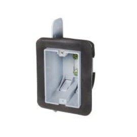 ORTECH PLASTIC BOX, VAPOUR PROOF, SINGLE GANG