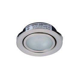 ORTECH SLIM LED PUK 1.5W 100LMN 5000K/2700K, 2-1/4'' CUTOUT, SATIN NICKEL ***NEW***