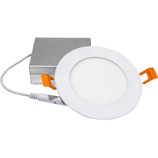 ORTECH SLIM LED DOWNLIGHT 4'', 9W, 550LMN, 3000K, WHITE