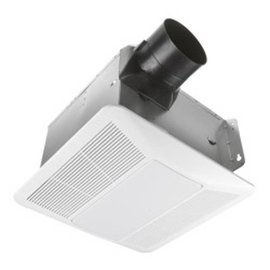 VISTA ULTRA QUIET 90 CFM BATH FAN WITH LIGHT