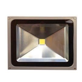 SOLAR 20W LED FLOODLIGHT FIXTURE - 12/24VDC