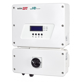 SOLAR SOLAREDGE 7.6 KW, 1Ø GRID TIED INVERTER, HD WAVE + EV CHARGER