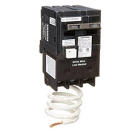 SIEMENS SIEMENS 2 POLE 50A GFCI PUSH-IN CIRCUIT BREAKER QF250