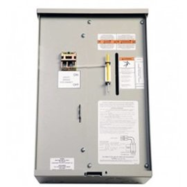 GENERAC AUTOMATIC TRANSFER SWITCH, SERVICE ENTRANCE RATED, 100AMP, 120/240V, NEMA3R. CSA SERVICE RATED COMPLIANT