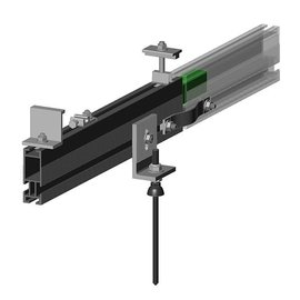 SOLAR FAST RACK HD RAILS, 20', EACH RAIL 242'' - NOT STOCKED AT ALL WARHOUSES