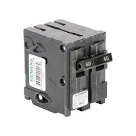SIEMENS SIEMENS 2 POLE 60A PUSH-IN CIRCUIT BREAKER Q260