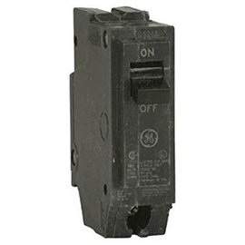 GENERAL ELECTRIC 1 POLE 15A PUSH IN CIRCUIT BREAKER  THQL1115