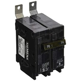 SIEMENS SIEMENS 2 POLE 70A BOLT-ON BREAKER B270