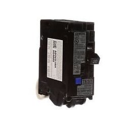 GENERAL ELECTRIC 1 POLE 20A PUSH IN GROUND-FAULT BREAKER  THQL1120GFT
