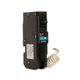 EATON EATON CUTLER HAMMER 1 POLE 20A TYPE BR COMBO ARC-FAULT/GROUND-FAULT BREAKER BRLAFGF120