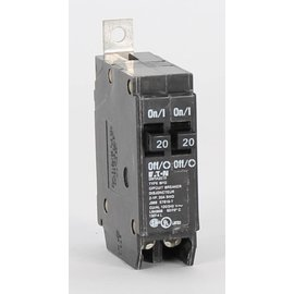 EATON EATON CUTLER HAMMER 2-1 POLE 20A TANDEM BOLT-ON BREAKER DNBA2020