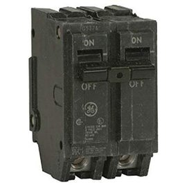 GENERAL ELECTRIC 2 POLE 15A PUSH IN CIRCUIT BREAKER  THQL2115