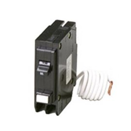 EATON 15A SINGLE-POLE GROUND FAULT CIRCUIT BREAKER TYPE BR