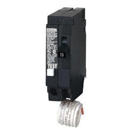 SIEMENS SIEMENS 15A 1 POLE GROUND FAULT PUSH-IN CIRCUIT BREAKER QF115