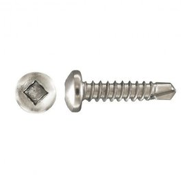FASTENERS & FITTINGS INC. 8X1 DRILL X SCREW PAN SOCKET HD