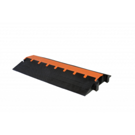 RACKATIERS CABLE PROTECTOR-HEAVY DUTY 5 CHANNEL -RIGHT 90 DEGREES