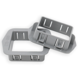 RACKATIERS STUD BUDDY SQUARE (100/BAG)