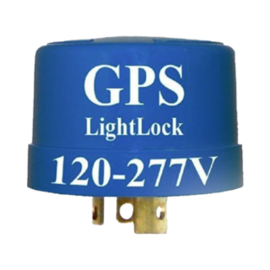 RACKATIERS GPS LIGHTLOCK -ASTRONOMICAL TIMER -TWIST-LOCK 120-277VAC