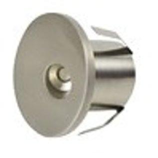 ORTECH MINI STEP / DECK LED 1W, 85LMN 3000K SATIN NICKLE