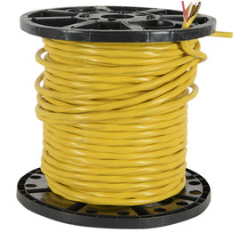 SOUTHWIRE *PER METER CUT*  NMD90 YELLOW 12/3CU-150M PVC JACKET CABLE 300V 90 DEG