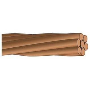 SOUTHWIRE *PER METER CUT*  GROUND WIRE BARE CU 6 (7STR) X76 - 150M