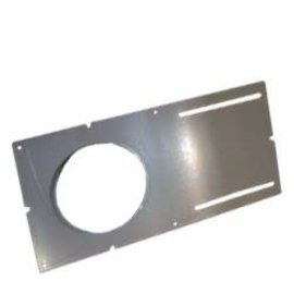 ROUGH IN PLATE WITH LIP FOR 4-1/4 LED ULTRA THIN RECESSED LIGHTS