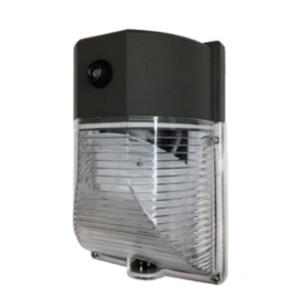 LED SMALL WALL PACK 20 WATT, 5700K, 2200 Lms, 120V, WITH PHOTO CELL