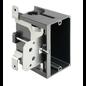 ARLINGTON 18.3 CU. IN. SINGLE GANG VERTICAL NON-METALLIC OUTLET BOX NEW CONSTRUCTION
