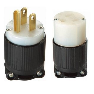 MORRIS Straight Blade Plugs & Receptacles 2 Pole 3 Wire