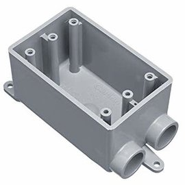 "NAPCO 3/4"" FSS SINGLE GANG BOX"