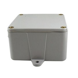 NAPCO 4X4X2 DEEP PVC JUNCTION BOX W/ GASKET