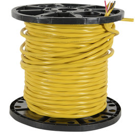 SOUTHWIRE *150M ROLL* NMD90 YELLOW 12/3CU-150M PVC JACKET CABLE 300V 90 DEG
