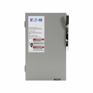 EATON EATON 100A 240V SAFETY DISCONNECT SWITCH FUSIBLE NEMA1
